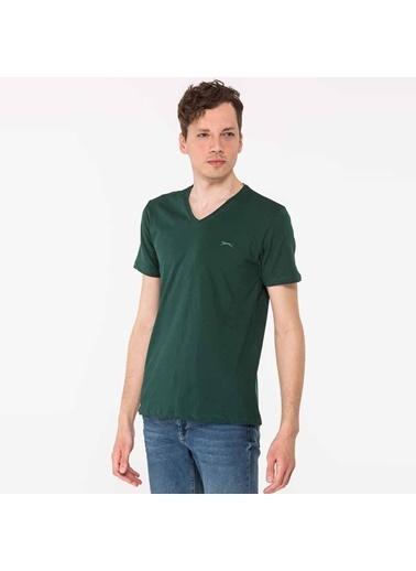 Slazenger Tişört Yeşil